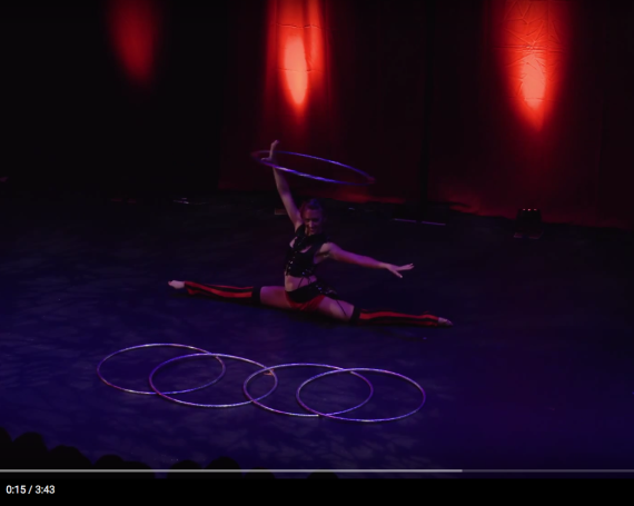 "CLICK TO WATCH: Romantasy Cabaret ""Circles"""