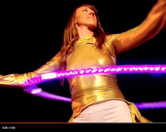 "CLICK TO WATCH: Hula Hooping on Emmy Award Winning show, ""The List"""