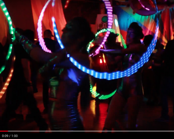 WATCH: LED Acrobatic Duo