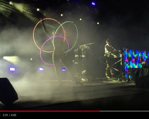 WATCH: LED Hooping at Gem & Jam 2018