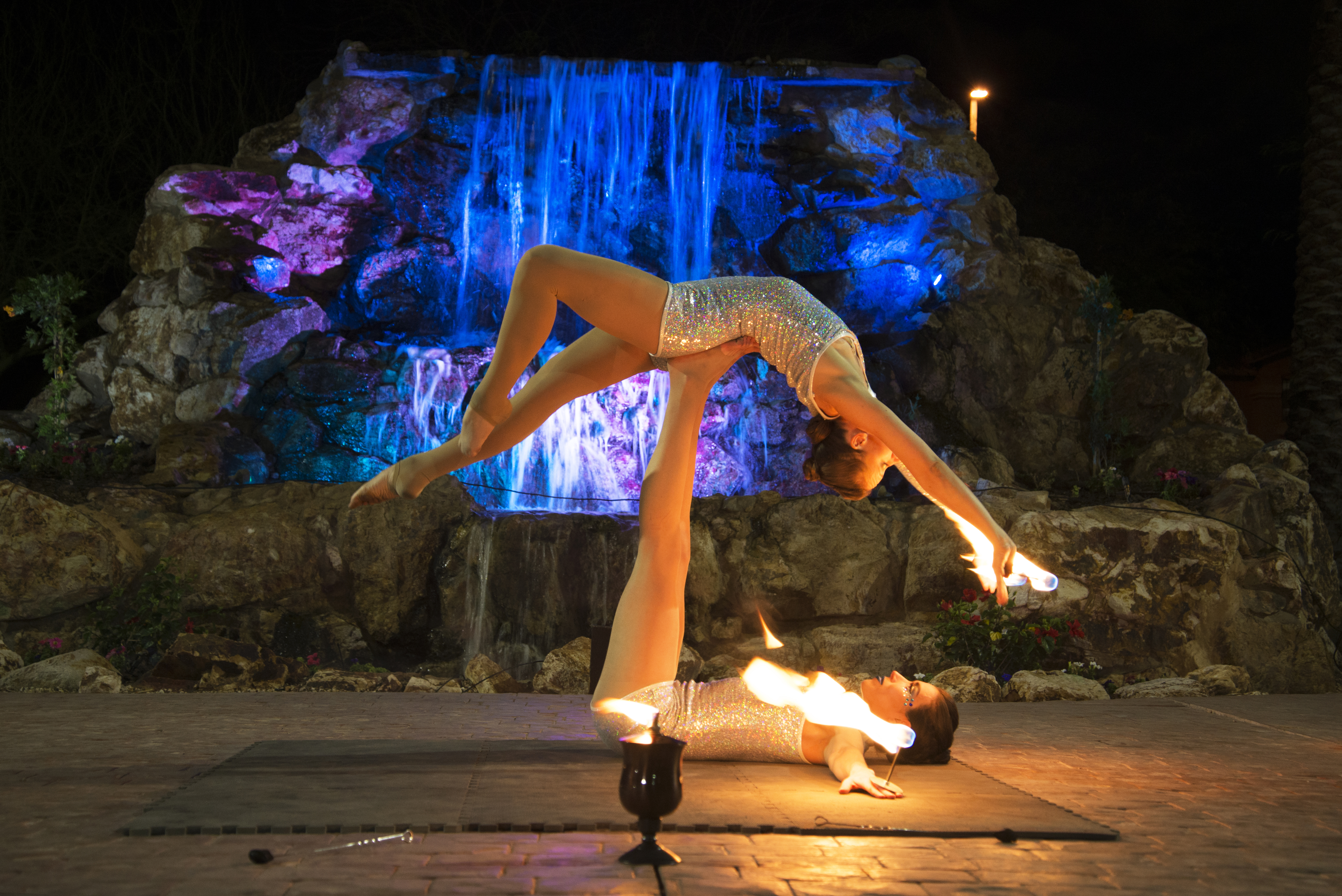 Jessica Packard - Fire Performer based in Phoenix, AZ